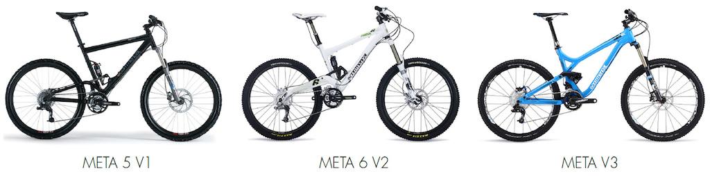 Commencal Meta V4 suspension 2015