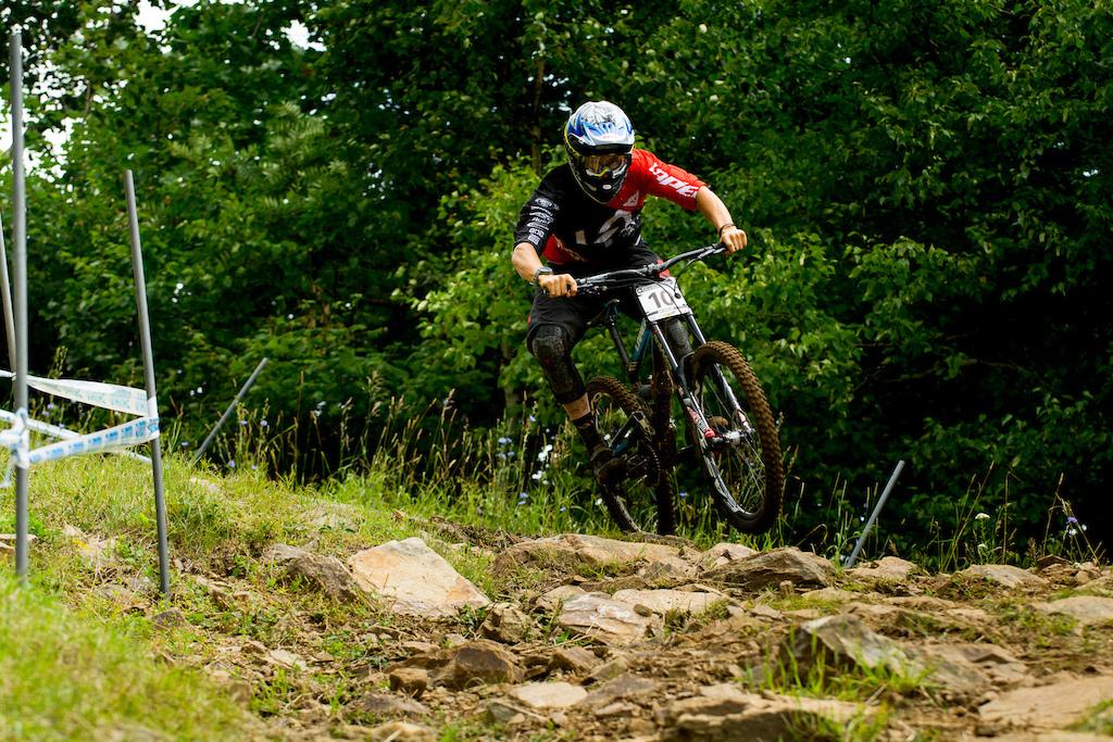 Mountain Biker Racing