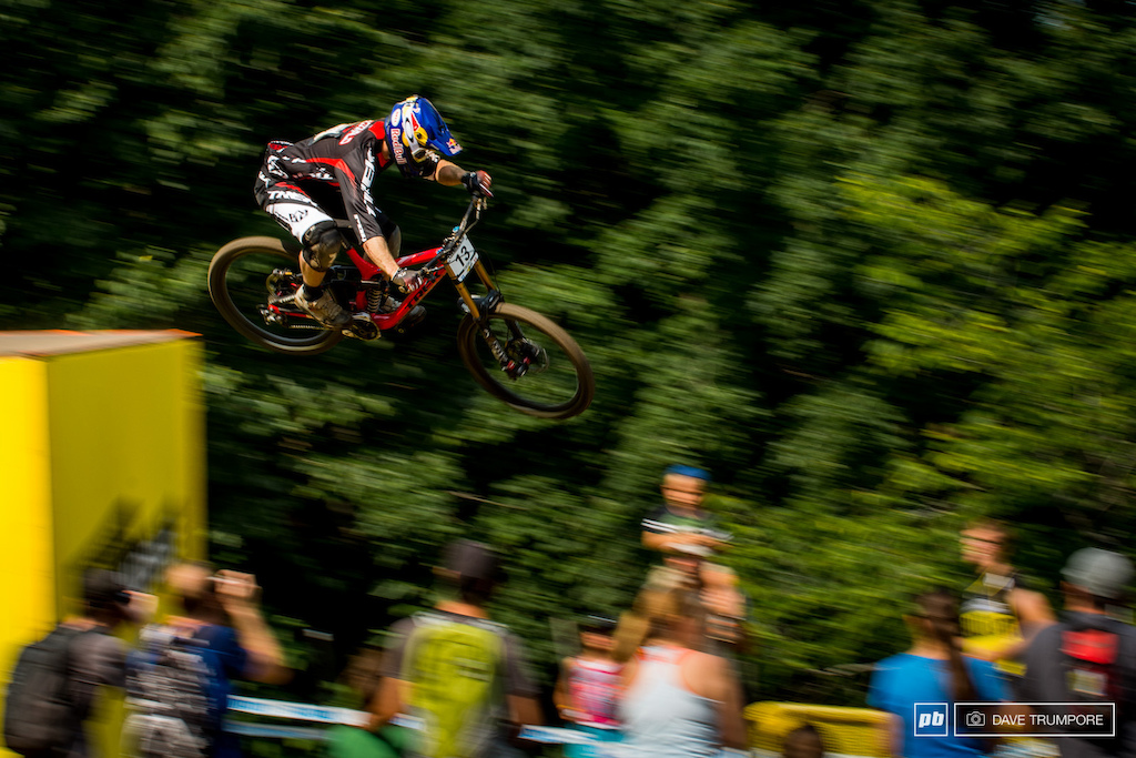 Brook MacDonald looked pinned all week but couldn t match his podium performance from the last round in Leogang.