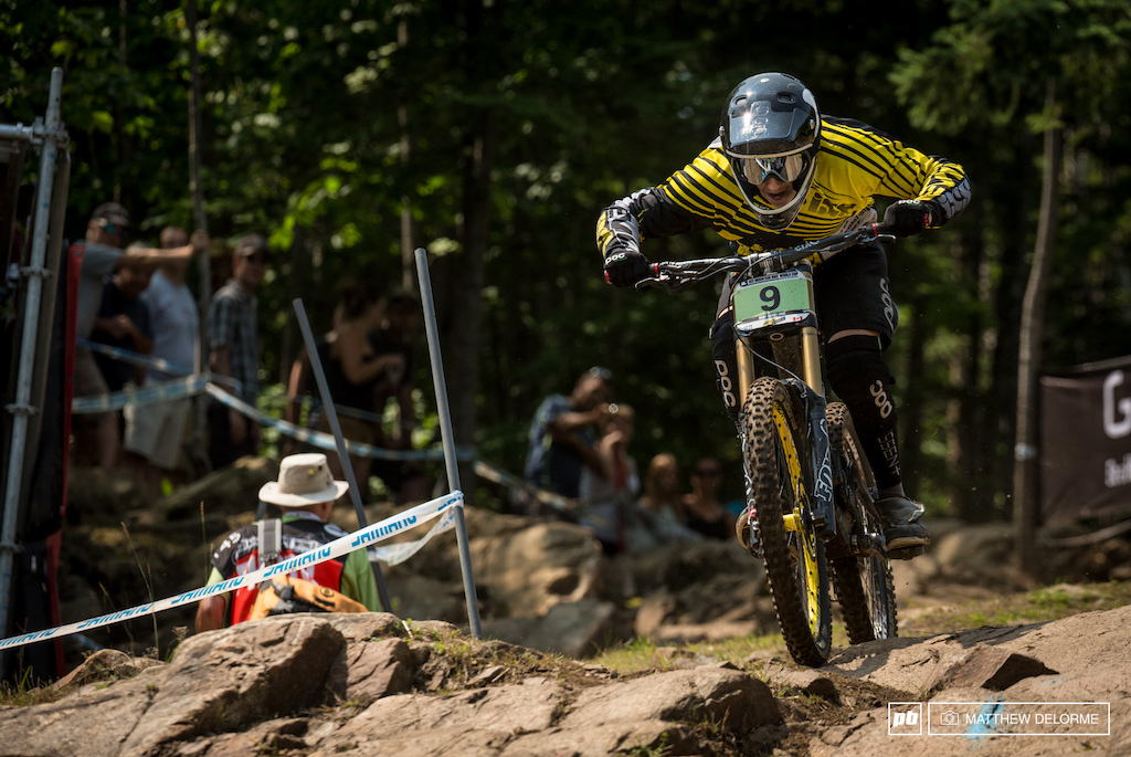 Canadian Jack Iles took advantage of being on home soil today and took second place in the Junoirs.