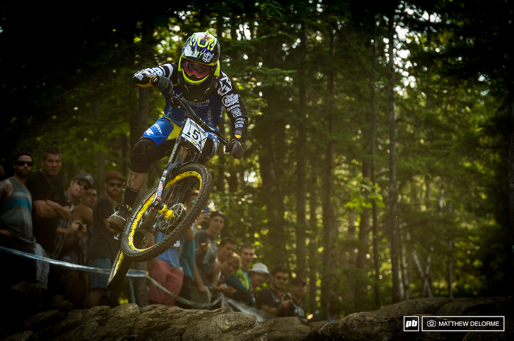 Sam Hill picked up where he left off with his last win here in 2010. It s been four years since Sam has taken a win it seems only fitting he did so here.