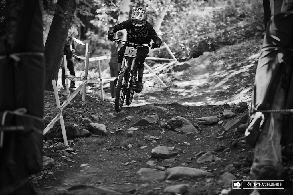 Lac Blanc Scott s junior Thomas Estaque owning the Windham terrain bagging silver bragging-rights in today s qualifier.