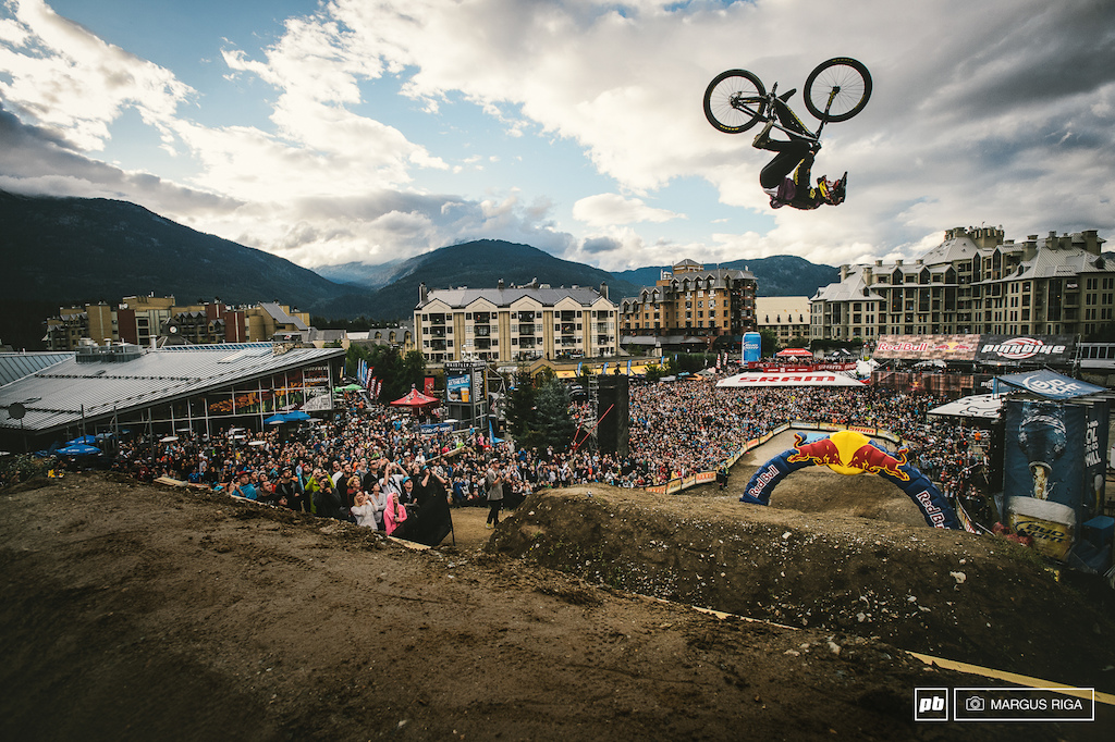 Will Brandon win again this year Come and find out this this next Saturday at the Red Bull Joyride...the biggest bestest event at Crankworx.