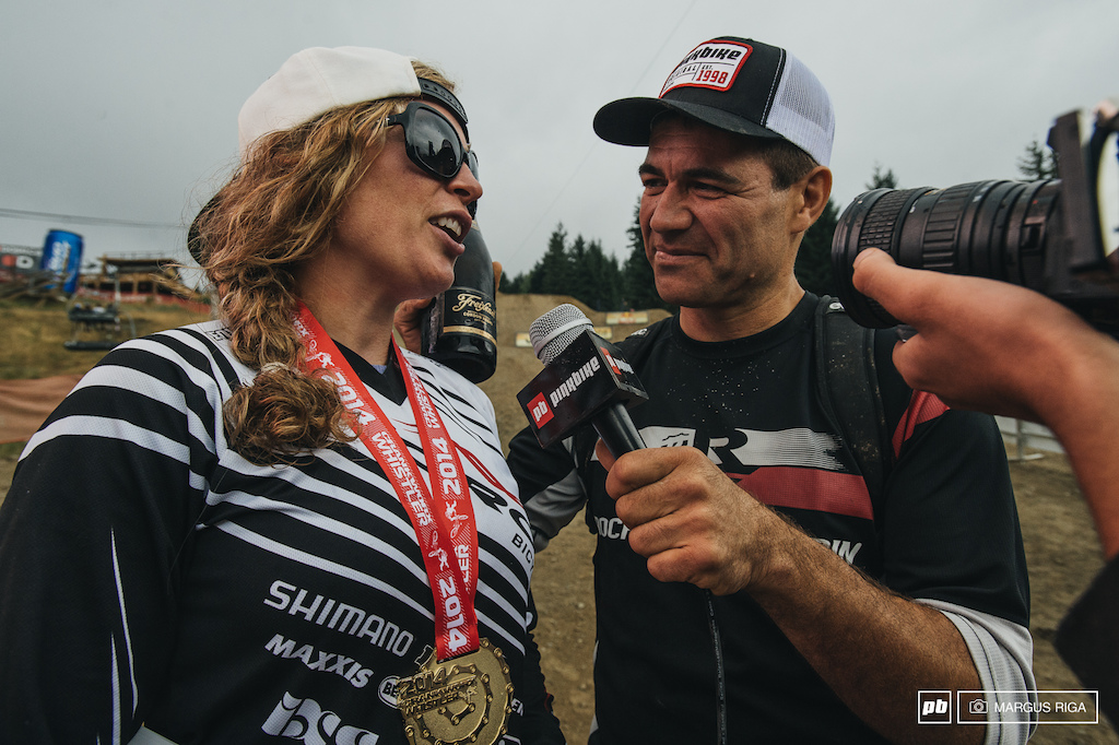 Jill has always done well in Whistler and this day was no exception. Brett Tippie getting the inside scoop on why she won by such a large margin.