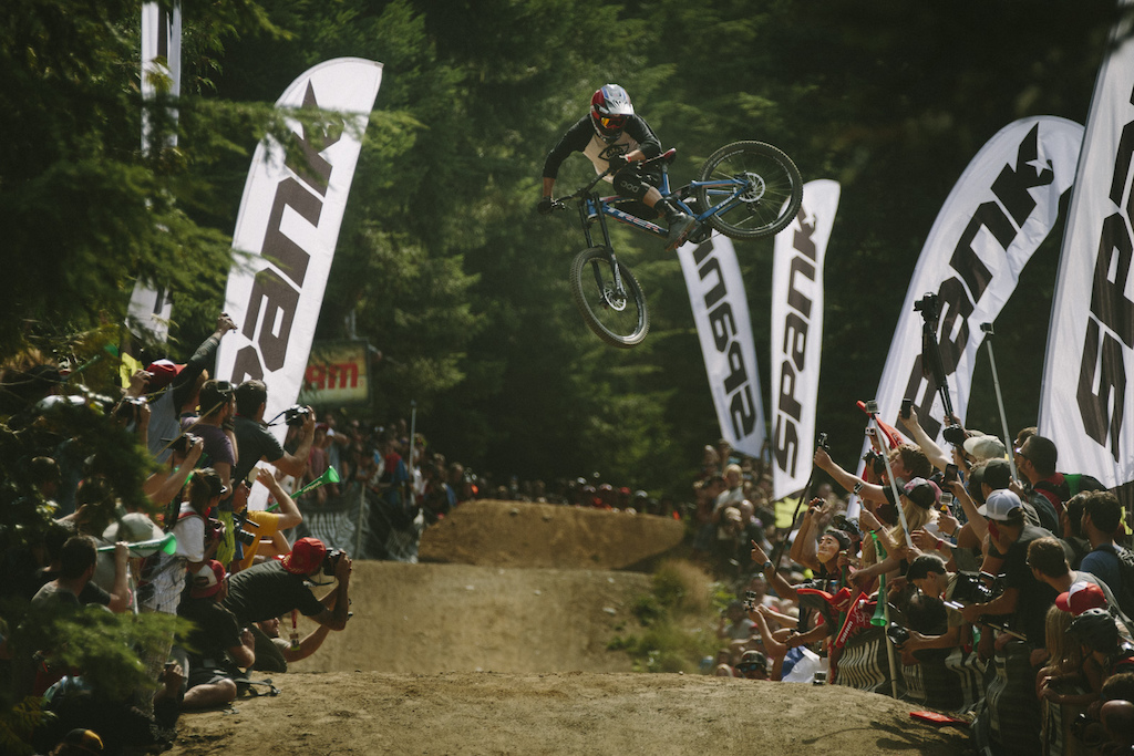 Ryan -RDogg- Howard at the Official Whip off Worlds Crankworx 2014 Whistler British Columbia Canada