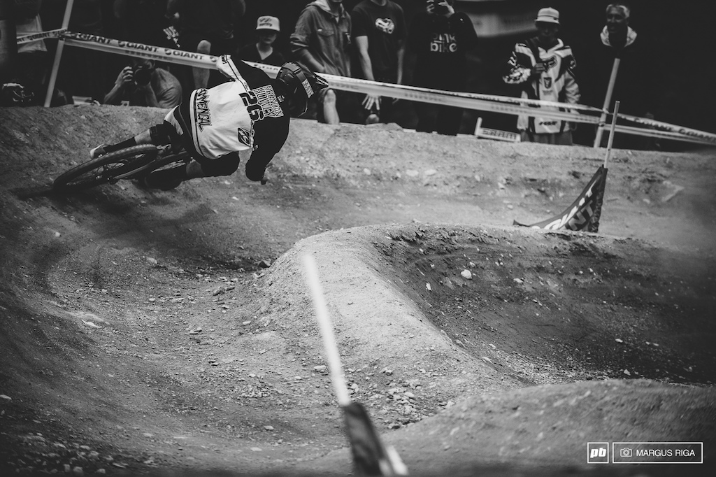 Brandan Howey is known more for his freeride stylings than his racing skills but damn looks like the kid s got skills all ze way around.