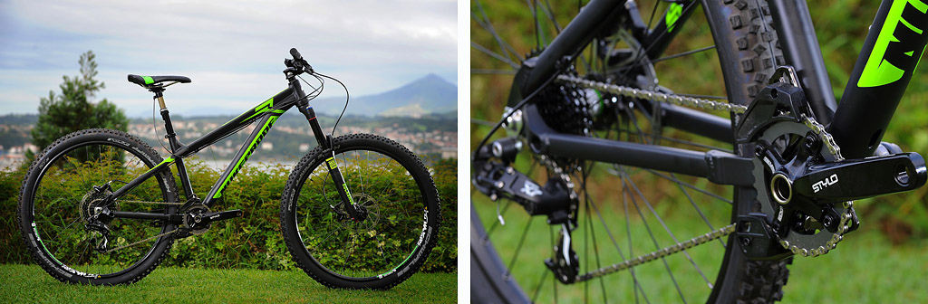 Nukeproof 2015 Scout Comp 11.08.14. NUKEPROOF Launch Hondarribia Spain. PIC Andy Lloyd www.andylloyd.photography