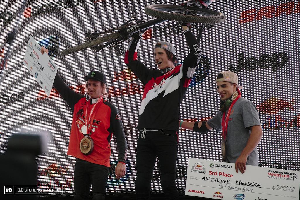 Brandon Semenuk, 2014 RedBull Joyride champion, Crankworx, Whistler, BC