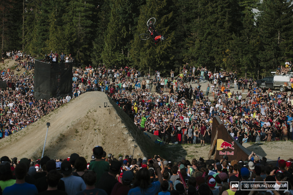 Brett Rheeder at 2014 Joyride at Crankworx, Whistler, BC
