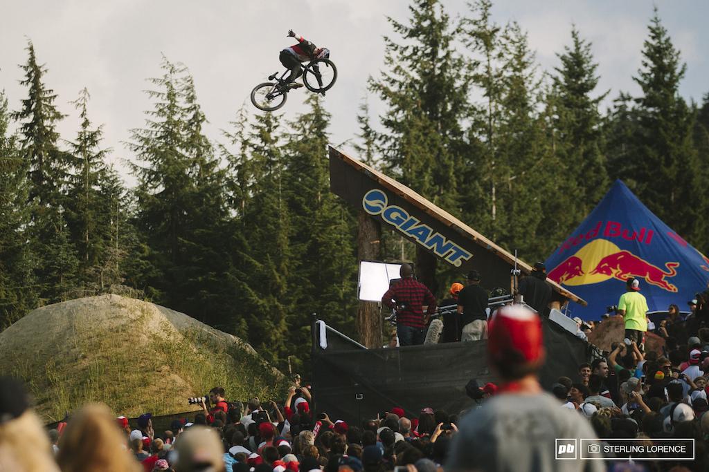 Brandon Semenuk at 2014 Joyride at Crankworx Whistler BC