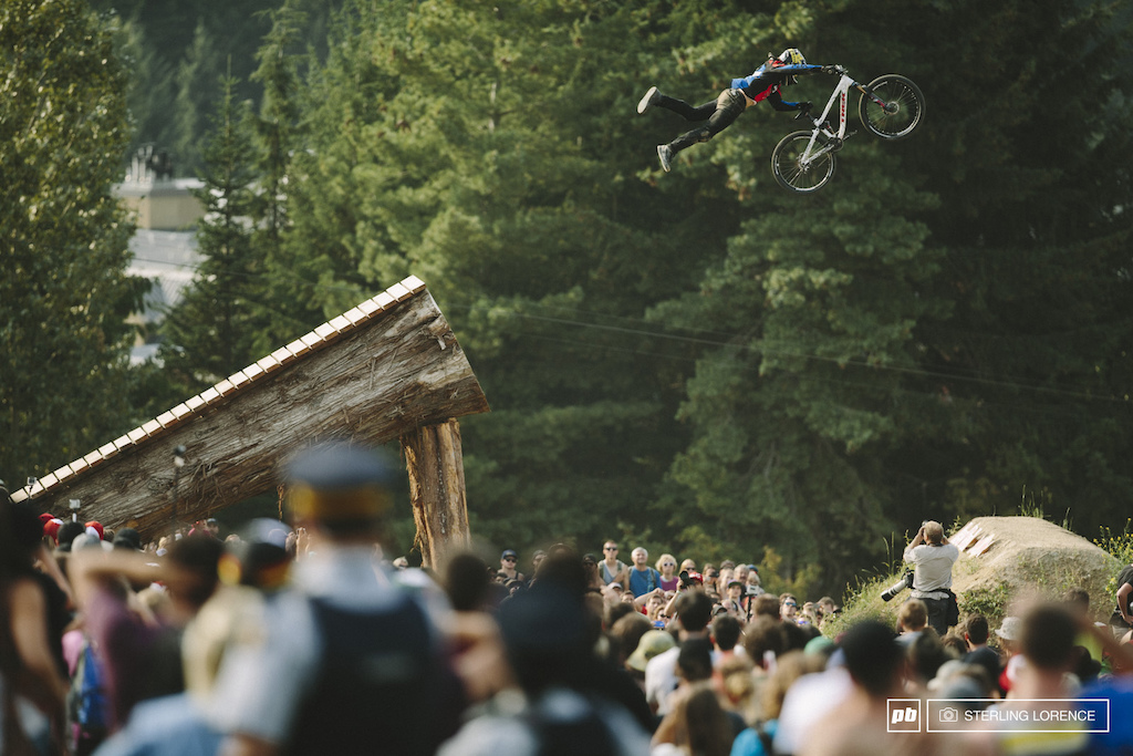 Cam McCaul at 2014 Joyride at Crankworx Whistler BC