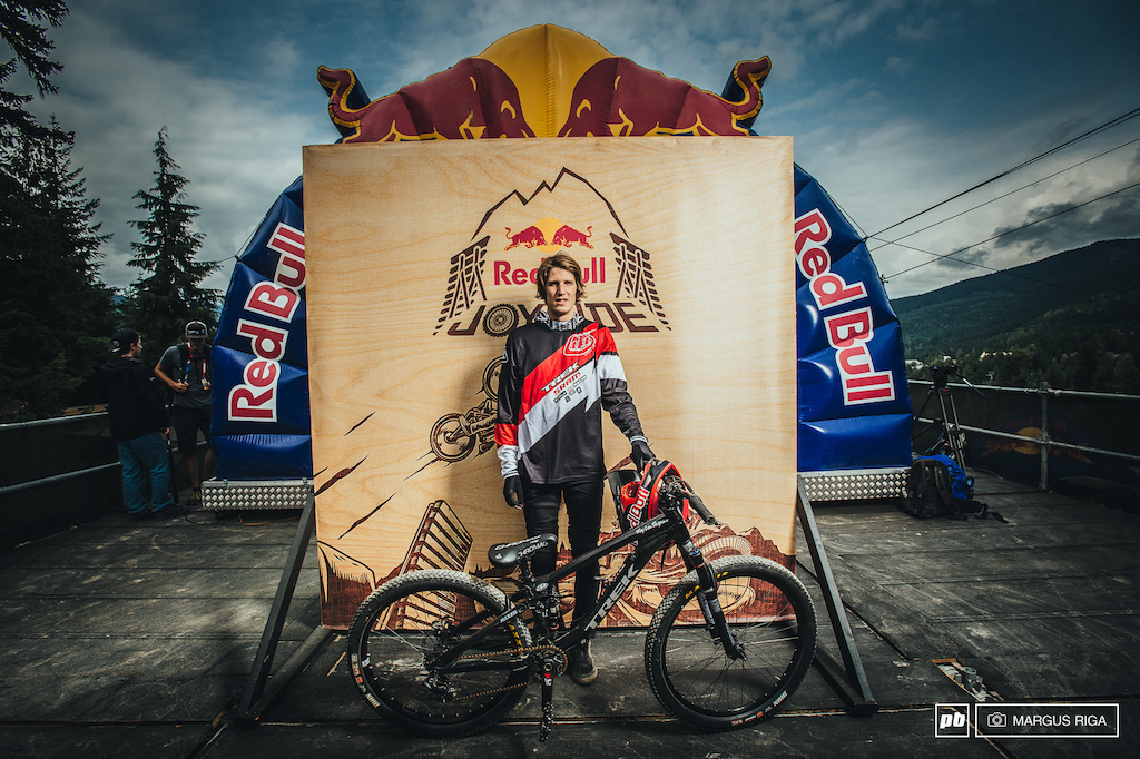 Brandon Semenuk and his Trek Ticket S