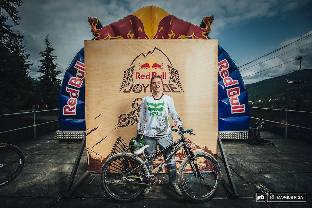 Nicholi Rogatkin and his Specialized P3
