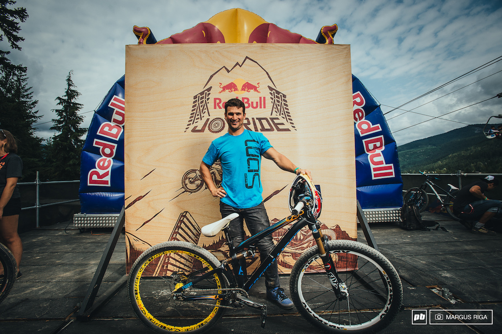 Darren Berrecloth and his Specialized P Slope