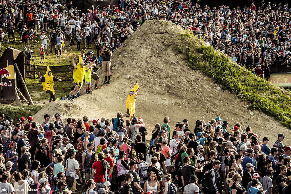 Here is an example why freeride will never get mainstream. Fans want to do a banana run during one of the biggest contests Not a problem we just want to have fun here and share it with everybody