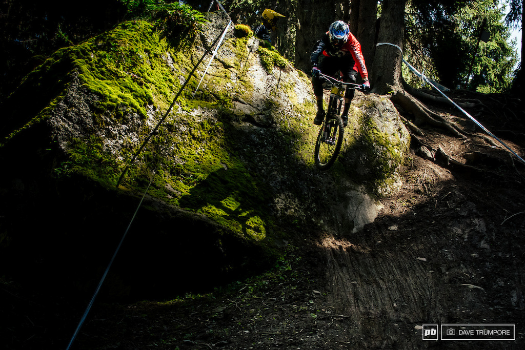 Sam Blenkinsop looked good all day and his 5th in timed training proves that he is definitely on the pace here in Meribel.