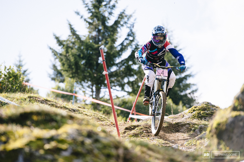 Tracy Hannah hot off her Crankworx Candian Open win last week and aiming for more.