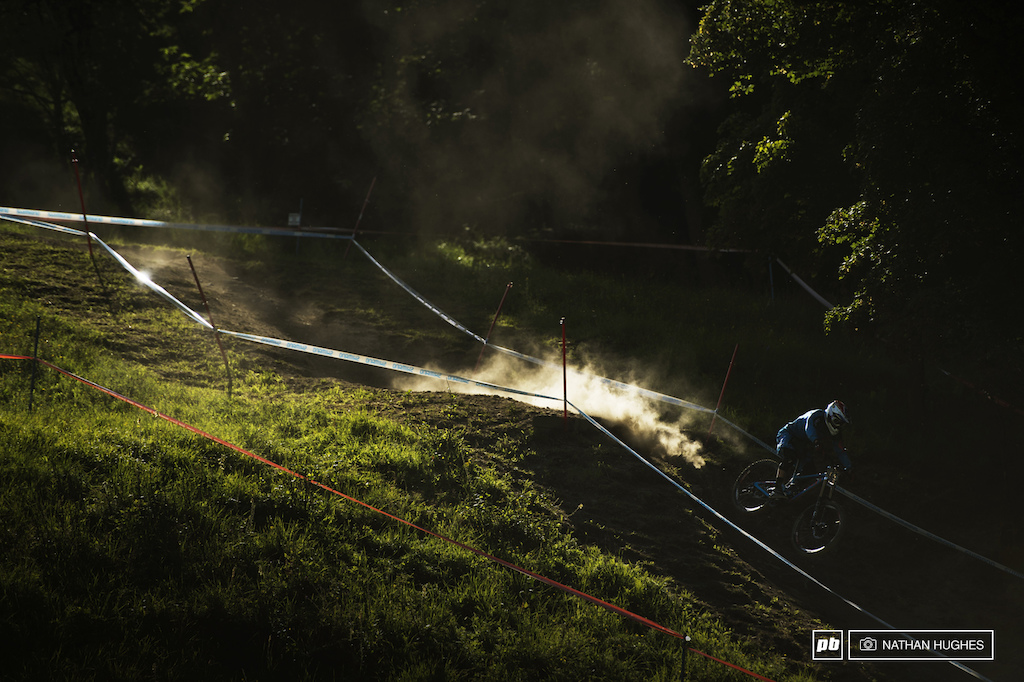 An up and coming Patrick Thome shreds the golden hour for team France.