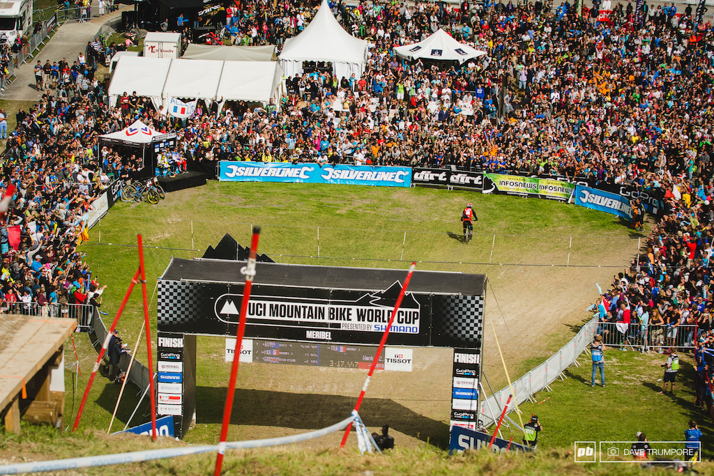 3rd place qualifier and a bit of a home town hero Loic Bruni was looking for a win here but could go only 4rth.