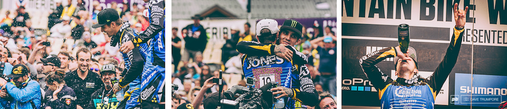 For the second time this season we get to see Sam Hill take a World Cup win.