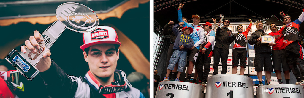 With a Jr. World Cup title and the overall team title Lapierre had plenty to celebrate today.