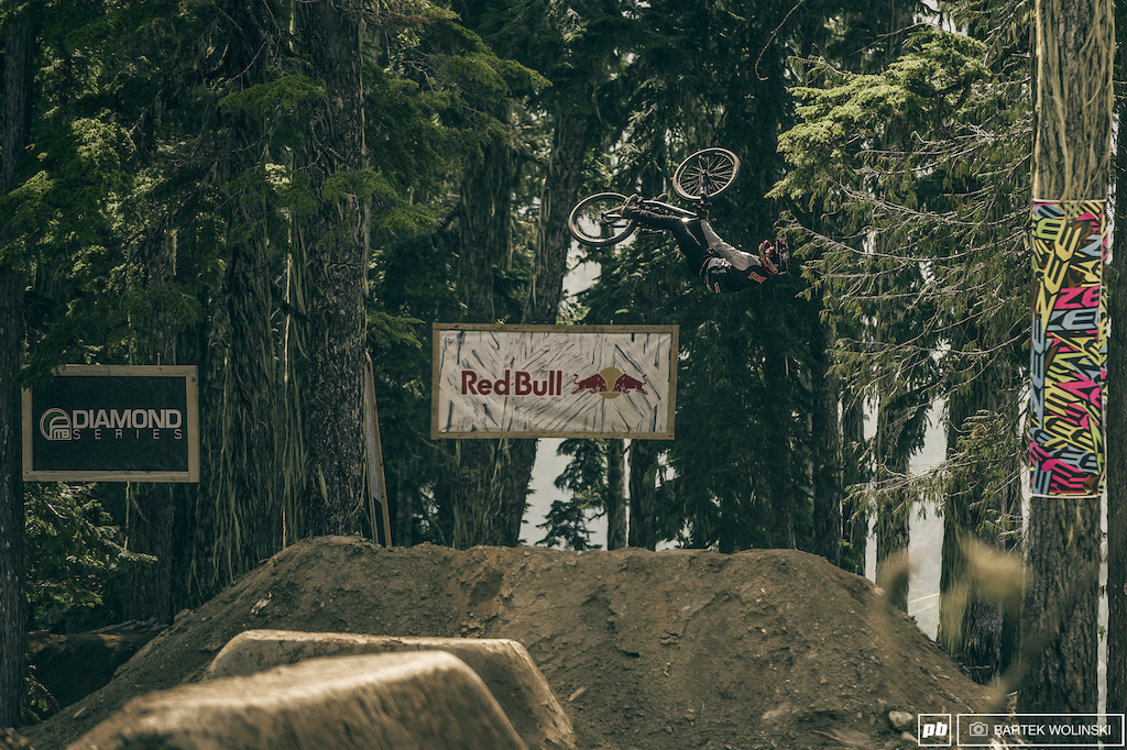 Brandon with his signature spin. World won t be the same after he pulled it at his Rad Company and the Crankworx like it was nothing.