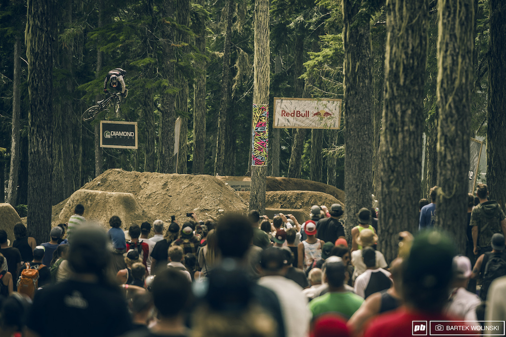 360 downside whip from the latest Crankworx winner.