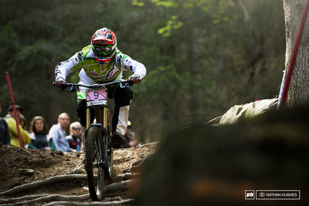 Putting experience to work. Fionn Griffiths has been racing since ever and her racers head came into play this afternoon as she rode to an awesome 6th place.