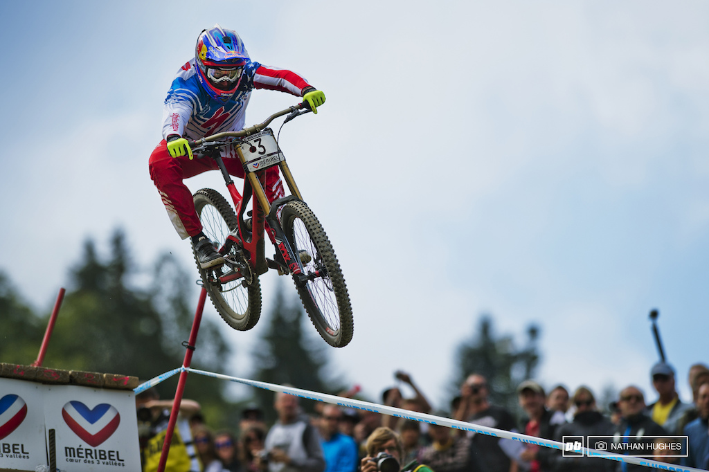Gwin looked blisteringly fast out the gate but a mistake left him back in 14th with an impossible task challenge ahead of him. Still he salvaged sixth which was enough to overtake Brosnan in the overall for 2nd. He s never won World s before so you can bet his attentions are already turned well ahead to Norway.