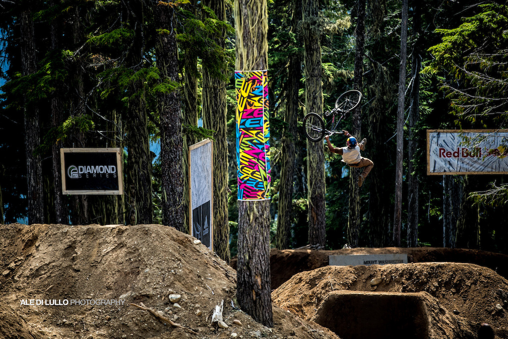 Yannick Granieri was on fire today. the frenchman will be competitive at district ride.