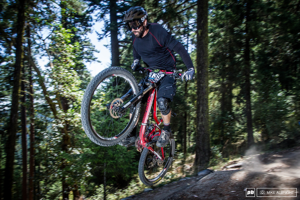 Kyle Fitzgerald at the 2014 Oregon Enduro race 4 in Ashland Oregon
