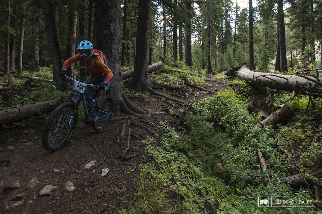 Moab local Beth Roberts made a strong showing on this weekend s race finishing nearly 10 seconds ahead of the rest of the Pro Women on the Burro Pass stage and finishing second overall on the weekend.