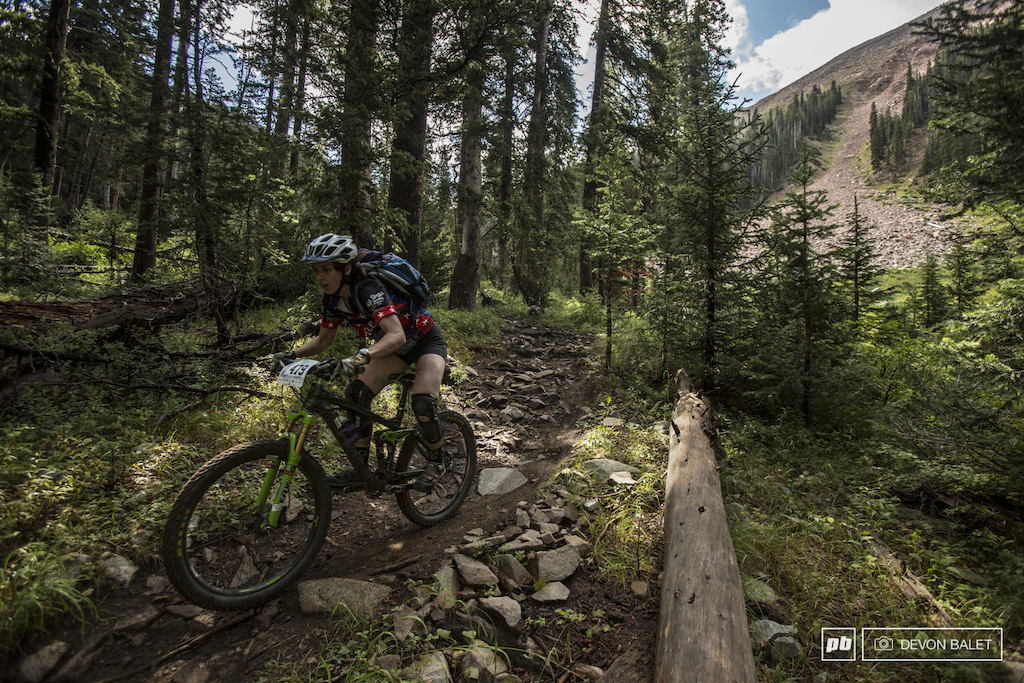 Cait Dmitriew has had a great year of racing in Big Mountain Enduro series. She took the series overall win for the Pro Women. Congrats