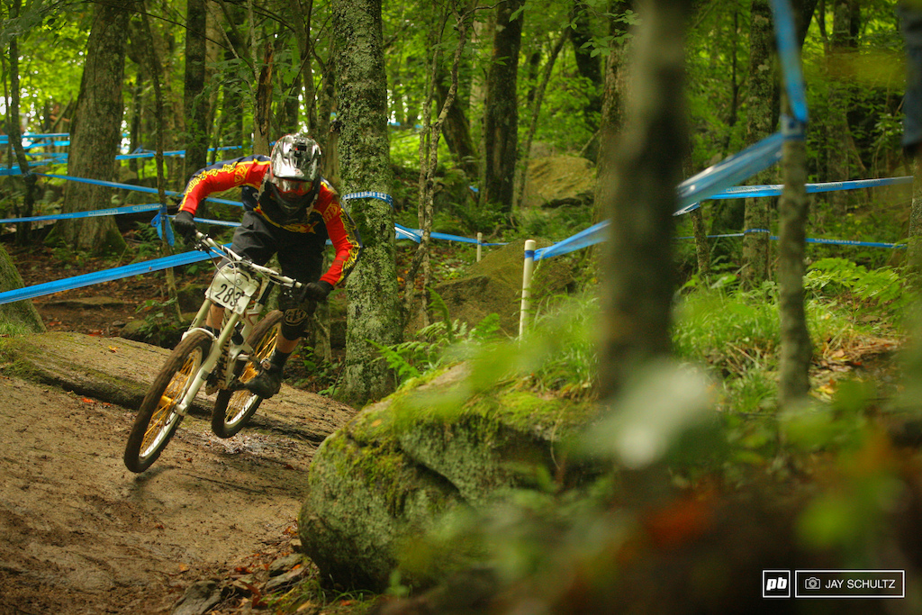 A First Year GROMer - First year GROM racer but no stranger to the SE DH scene Owen Witcher stepped it up just enough to claim the 18 and Under Category. GROM Racing has been and continues to be a racing machine pumping them out left and right.