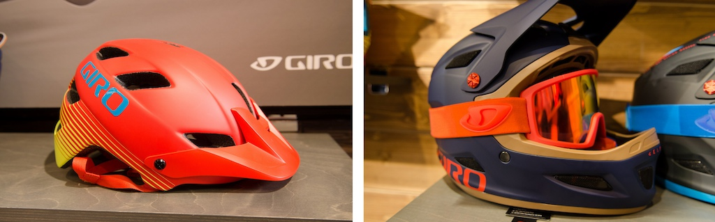 Giro Feature and Blok goggle Eurobike 2014