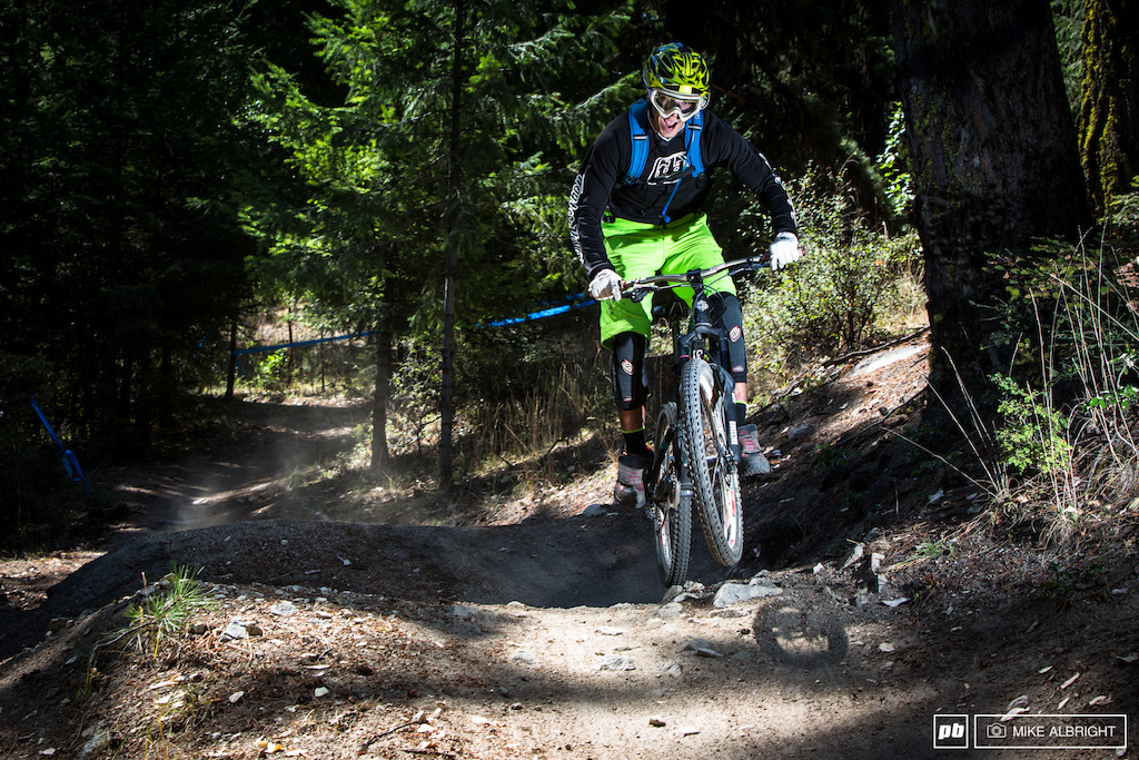 Ross McDonald from Mountain Bike Mania.net