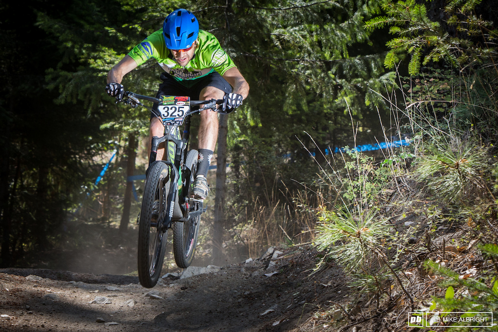 Luke Mason out of Bend Oregon. 1st place expert men 40 .