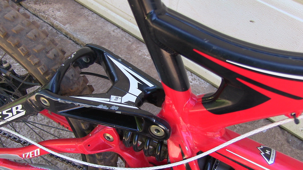 2010 Specialized Demo ll Frame + Fox DHX Shock