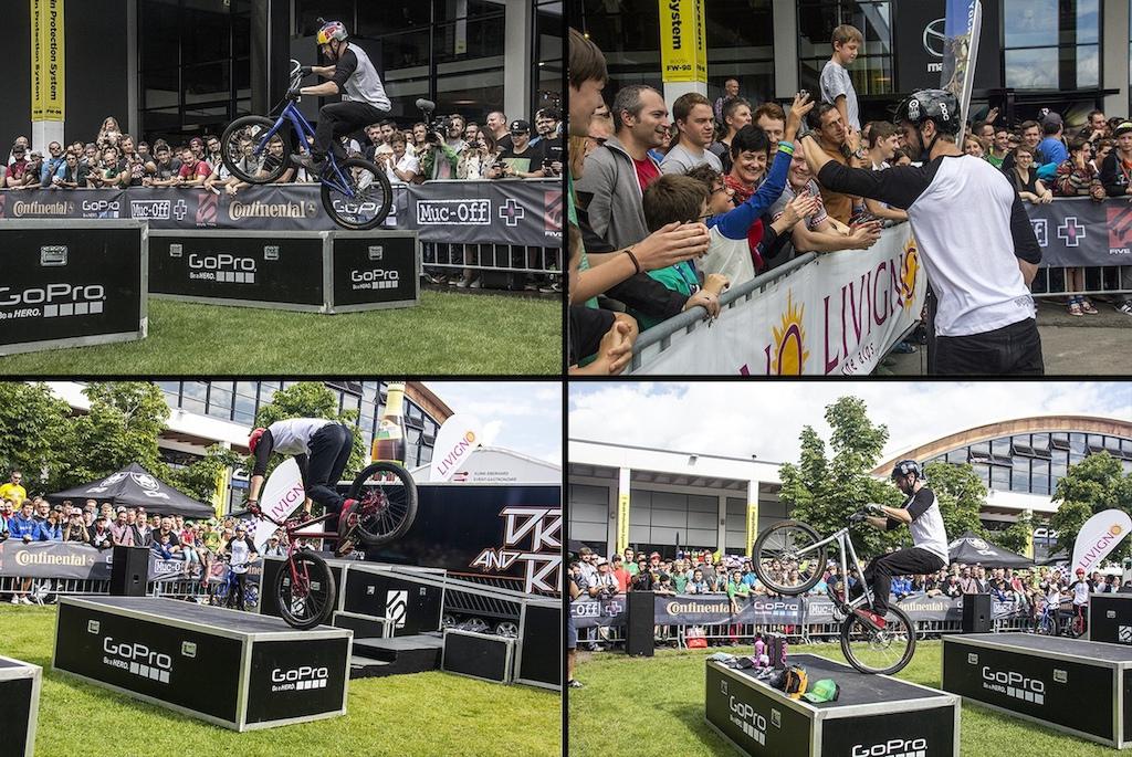 Danny MacAskill Premiere at Eurobike 2014