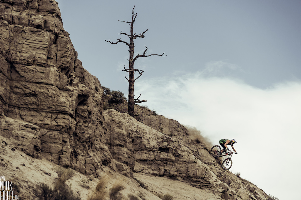 His main goal for now is getting into the infamous Red Bull Rampage going down by the end of the month. We know he will have enough speed on those tiny ridges.
