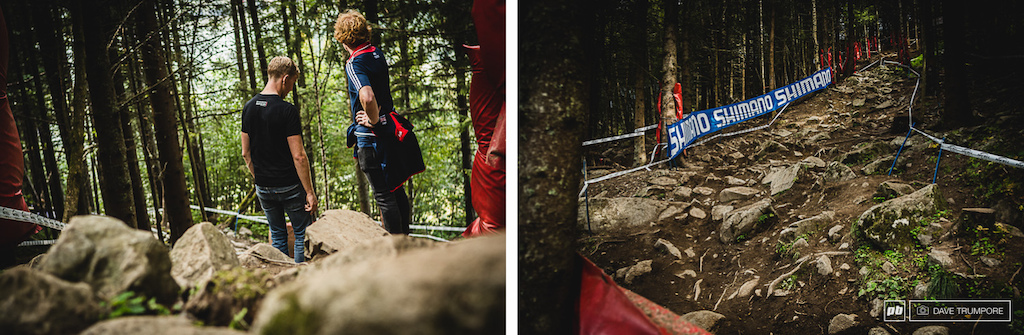 Whether up close and personal or pulled back for a greater perspective the rock garden is properly gnarly.