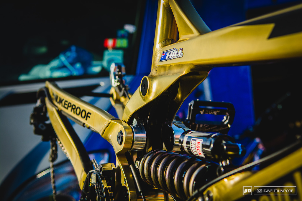 Sam Hill definitely isn t being shy about medal he wants to leave Norway with on Sunday.