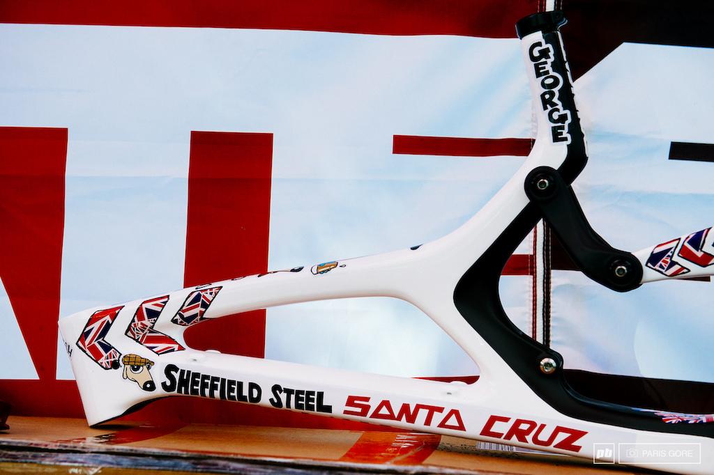 Steve Peat Custom Santa Cruz