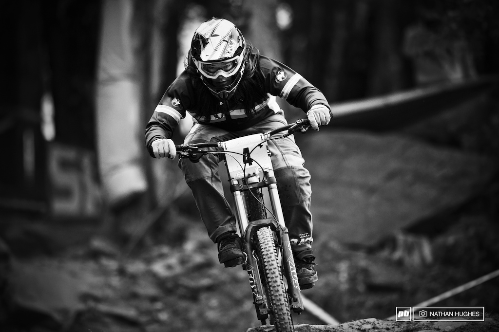 Viktoria Giminez locking down second place in Junior women to keep the French fire thoroughly alive.