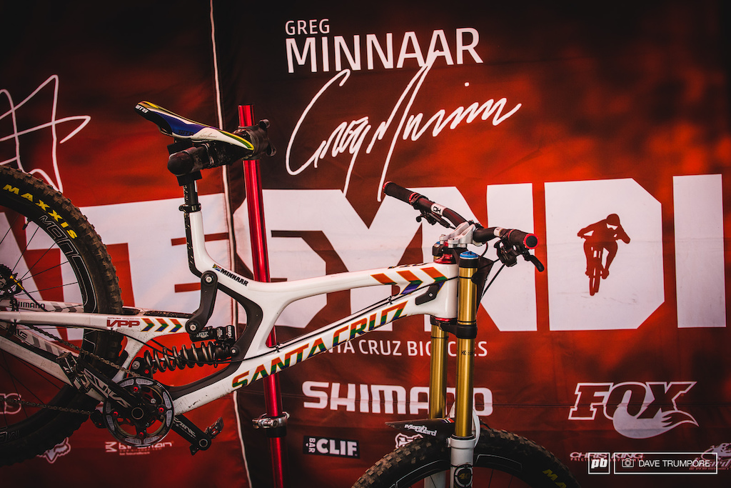Your current World Champion Greg Minnaar went quickest in timed runs today proving that he has what it takes to make it 3 in a row.