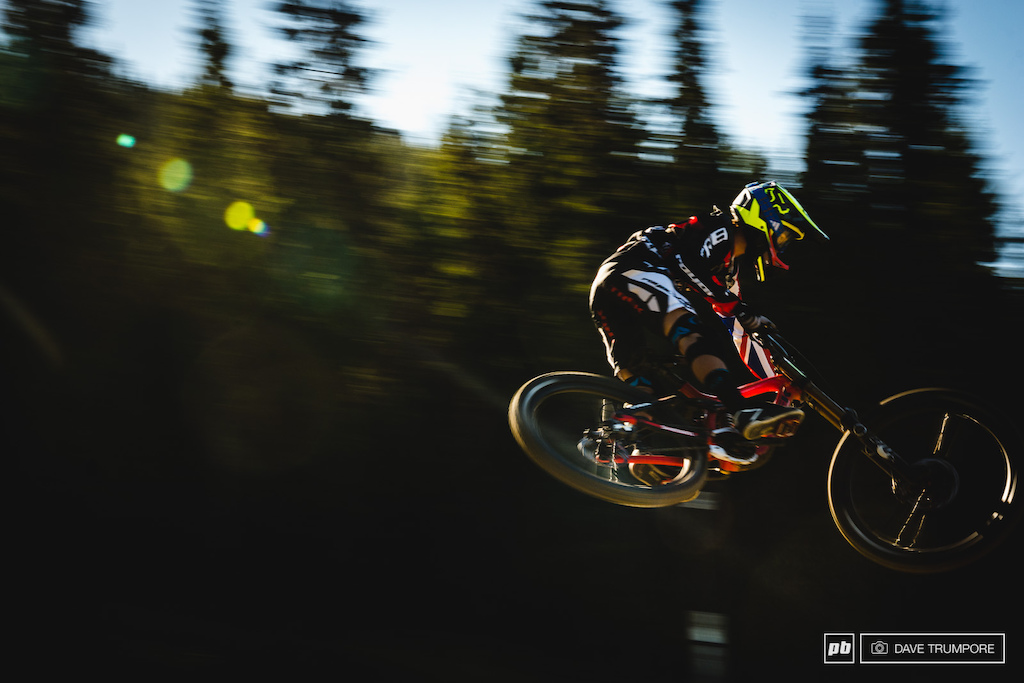 As always Laurie Greenland provides the style anytime his wheels leave the ground. Thankfully in Hafjell that is quite often.