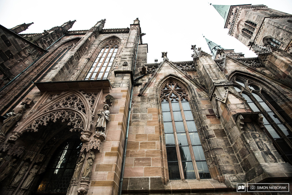Nuremberg s architecture still amazed us after the first day.