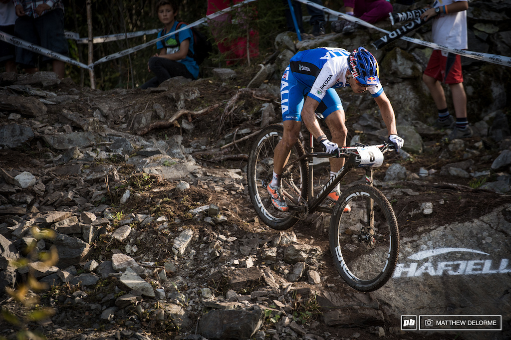 Marco Fontana was on the gas today. He finished third, sans baggies. Let the interweb bickering commence.