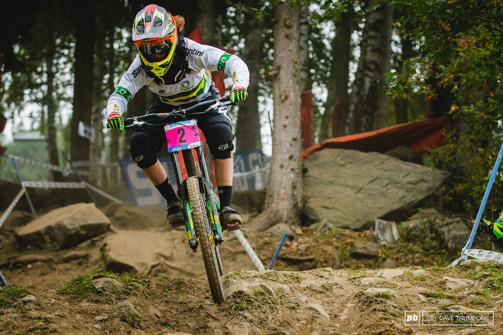 Tegan Molloy backed up her Jr World Cup title with a World Championship title here in Norway.