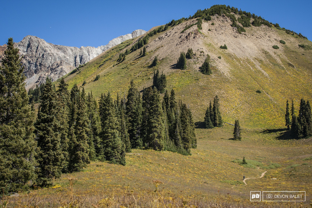 Racing in Crested Butte can make you feel small very small.
